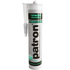 Силиконовый герметик PATRON универсальный белый 300мл