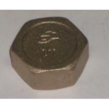 Заглушка латунная SOBIME 1 1/4 арт.044005