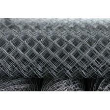Сетка плетеная рабица оцинкованная ячейка 60мм D=1,6мм (рул/18м2)
