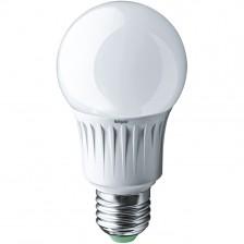 Лампа светодиодна NLL A60/10Вт 4К Е27 груша