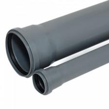 Труба канализационная ПВХ 110*1000 РосТурПласт арт.11183