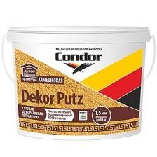 Штукатурка белая CONDOR Dekor Putz камешковая (зерно 2,5) 25кг