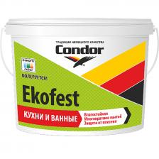 Краска водно-дисперсионная CONDOR Ekofest 15кг