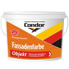 Краска фасадная объектная CONDOR Fassadenfarbe Objekt 15кг