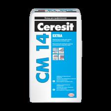 Клей для плитки эластичный CERESIT CM14 Extra 25кг