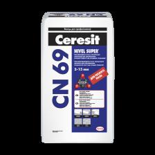 Самонивелирующаяся смесь CERESIT CN69 25кг