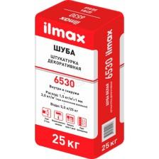 Штукатурка ILMAX 6530 декоративная Шуба 25кг белая