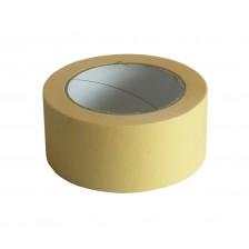 Лента бумажная 48мм*50м внутренняя желтая (уп/6шт)