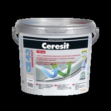 Универсальная эластичная химически стойкая фуга CERESIT CE43 Grand Elit (белая №01) 5кг