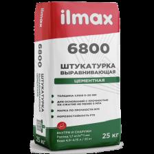 Штукатурка ILMAX 6800 цементная выравнивающая 25кг.
