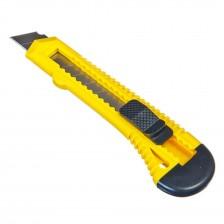 Нож Bohrer 18мм с выдвижными лезвиями усиленный с металлической направляющей