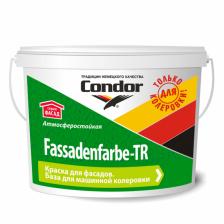 Краска ВД CONDOR Fassadenfarbe-TR 10кг