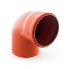 Колено наружной канализации ПП 110*90