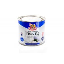 Эмаль алкидная OLECOLOR ПФ-115 красная 1,8кг