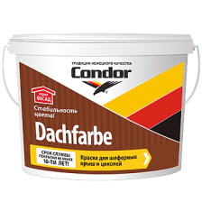Краска водно-дисперсионная CONDOR Dachfarbe D-06 3,25кг