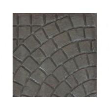 Плиты бетонные для тротуаров без обработки Бавария серая прямая 40*40*5см