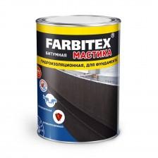 Мастика битумная гидроизоляционная FARBITEX 17кг