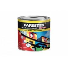 Эмаль алкидная FARBITEX ПФ-115 белая 0,8кг