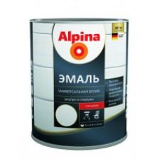 Эмаль алкидная ALPINA универсальная шелковисто-матовая 0,75л