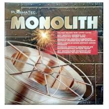 Проволока сварочная омедненная 0,8 мм СВ08Г2С ТМ MONOLITH (5кг)