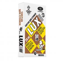 Смесь для стяжек сухая цементная LUX 25кг