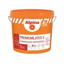 Краска ALPINA Expert Premiumlatex 3 акриловая белая 2,5л/4,1кг