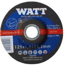 Круг отрезной 180х1,9х22,2 для металла, WATT Арт:40.180.191.00