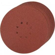 Шлифлист 225 мм, круг, P120, 10 шт, Einhell Арт:4259921