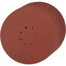 Шлифлист 125 мм, круг, К180, 10 шт, Makita Арт:P-43583