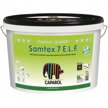 Краска CAPAROL Samtex 7 поливинилацетатная белая 10л/14,2кг