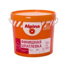 Шпатлевка ALPINA Expert Feinspachtel Finish белая 15кг