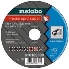 Круг отрезной 125х1,0х22,2 для стали, Metabo Арт:616189000