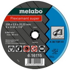 Круг отрезной 150х2,0х22,2 для металла, Metabo Арт:616109000