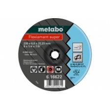Круг обдирочный 180х6,0х22,2 для нержавеющей стали, Metabo Арт:616610000