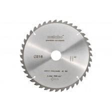 Диск пильный 216x30x2.4 мм, 40 зуб., для дерева, Metabo Арт:628060000