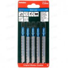 Пилки T118G по металлу для лобзиков, 5 шт, Metabo Арт:623636000