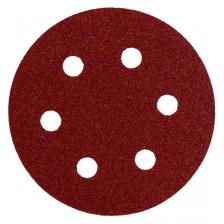 Шлифлист 80 мм, круг, P100, 10 шт, Metabo Арт:624044000
