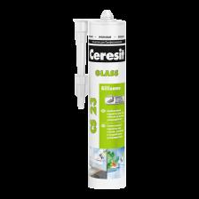 Герметик силиконовый CERESIT CS23 для стекла прозрачный 280мл