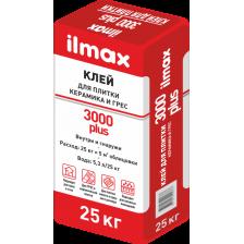 Клей ILMAX 3000 plus для плитки керамика и грес 25кг