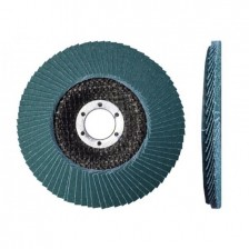 Круг лепестковый КЛТ 1 (Луга) 125*22мм ZK40 ST плоский арт.4603347071823