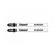 Пилки лобзиковые по металлу GEPARD Т118А 2 шт арт. GP0612-01