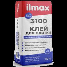 Клей для плитки ILMAX 3100 повышенной фиксации 25кг
