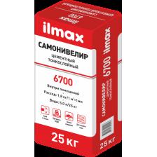 Самонивелир цементный тонкослойный ILMAX 6700 25кг