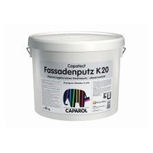 Декоративная дисперсионная штукатурка Capatect Fassadenputz K20 белая фактура