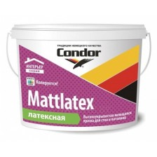 Краска ВД CONDOR Mattlatex 3,75кг