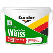 Краска ВД CONDOR Fassadenfarbe-Weiss 14,4кг