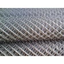 Сетка плетеная рабица оцинкованная ячейка 50мм D=1,6мм H=1,5м (рул/15м2)