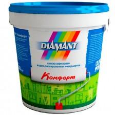 Краска DIAMANT Комфорт акриловая белая 0,9л/1,3кг