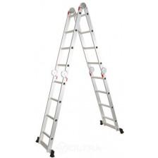 Лестница алюминиевая многофункциональная STARTUL 4х6ступ.