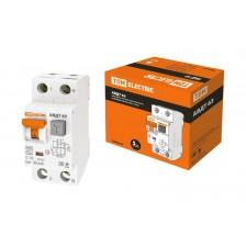 Дифференциальный автоматический выключатель TDM АВДТ63 2P 16А 30мА класс A